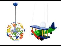 Как выбрать светильник в детскую комнату