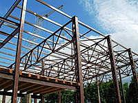 Использование металлических конструкций