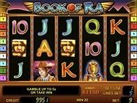 Игровой автомат Book of Ra по теме Древнего Египта