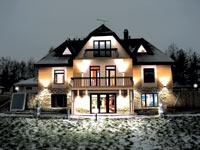 Освещение фасадов: заливающий свет