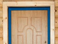 Особенности отделки входных дверей