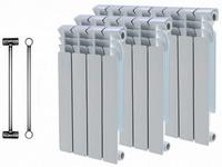 Радиаторы отопления: виды, обзор зарубежных и отечественных моделей