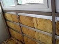 Как сделать утепление балкона