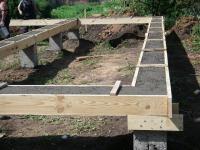 Как выбрать фундамент под каркасный дом