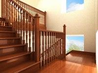 Как устанавливаются деревянные лестницы