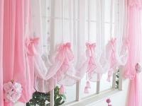 Воздушные занавеси из полупрозрачных материалов – ткани тюлевые